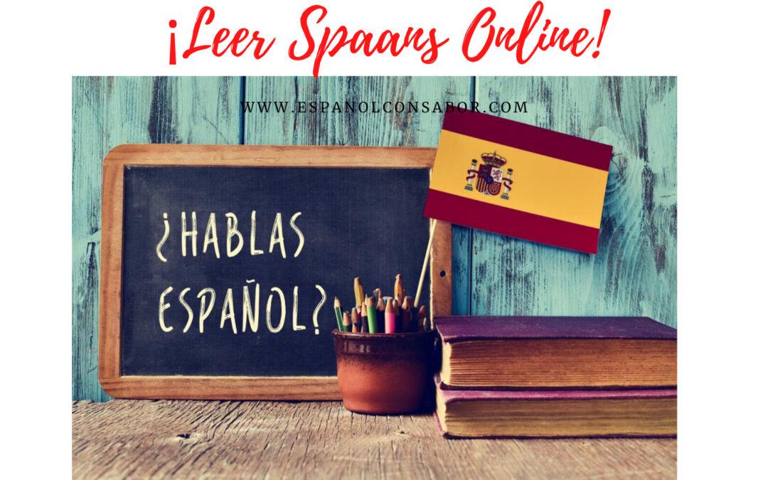 Leer Spaans online!